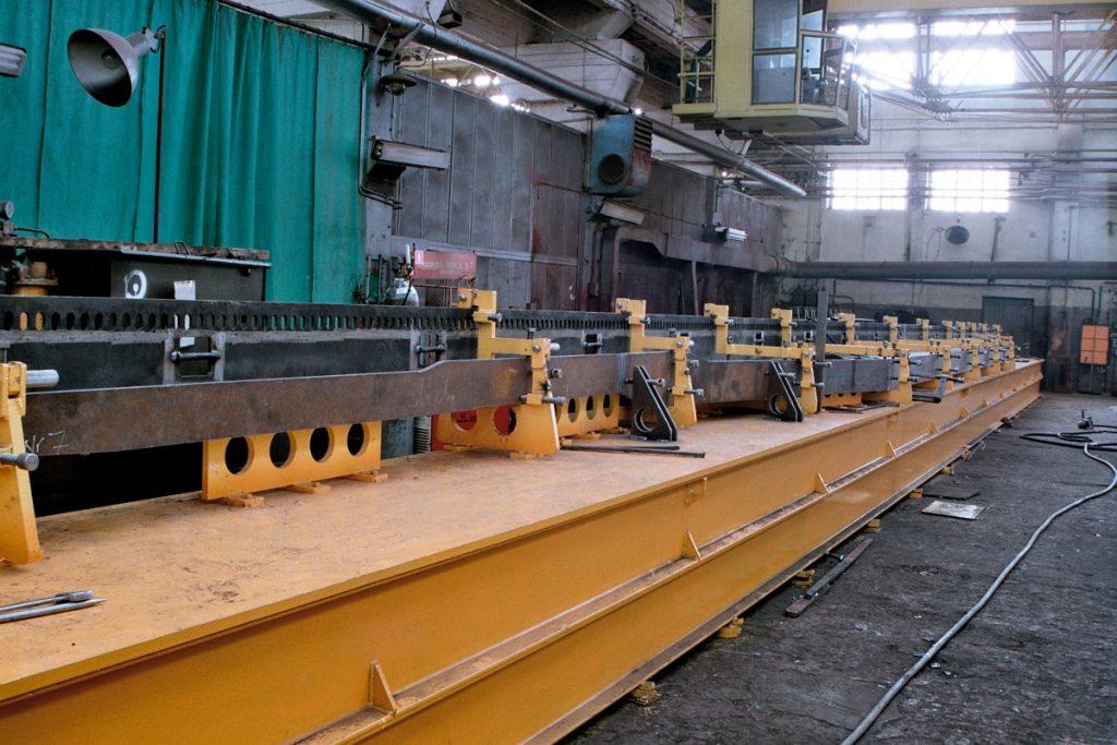 Dźwigary podłużne do wagonów kolejowych