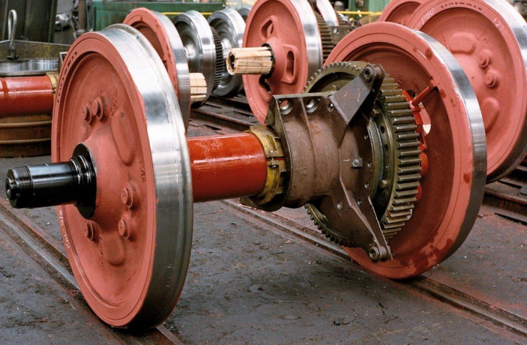 Oferujemy do sprzedaży zestawy kołowe do lokomotyw elektrycznych i spalinowych